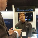 Brady Volpe with DOCSIS 3.1 test solution at Cable-Tec Expo
