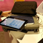 iPad with Next Gen Spectrum Analyzer by JDSU