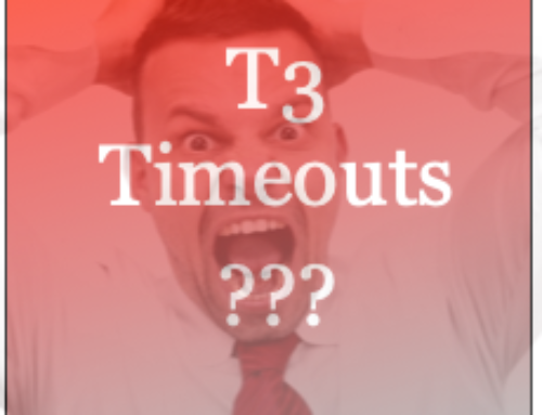 Do T3 Timeouts Impact My Service?